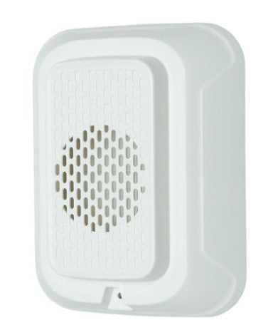 SYS-HWL-LF - (White) 2-Wire, 24 Volt, 520Hz, Wall Sounder