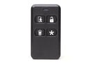 TSS-2GIG-KEY2E-345 - Encrypted 4-Button Keyfob Remote