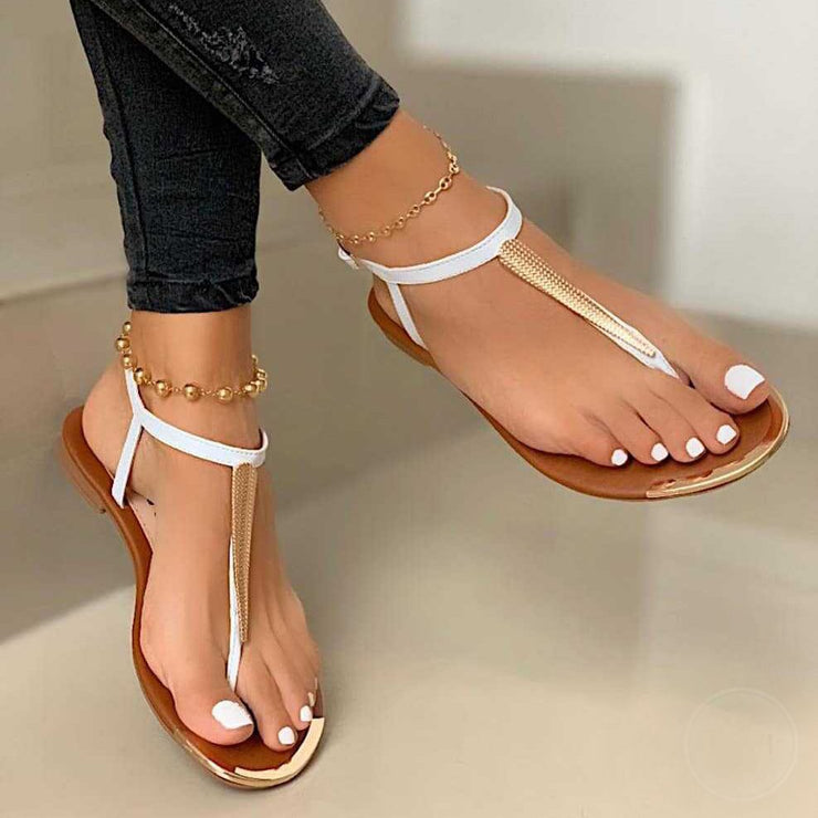 Pu Holiday Sandals
