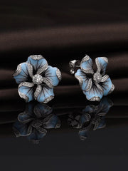 Flower Leaf Earrings