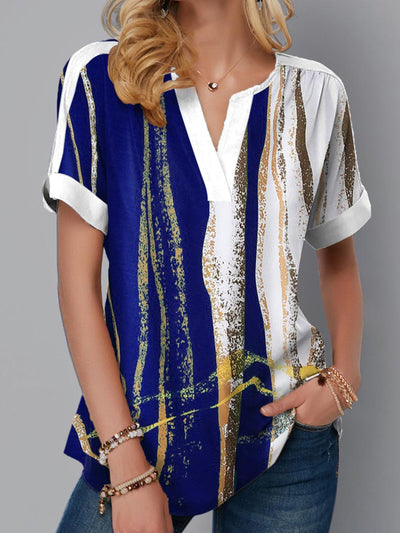 Short Sleeve Casual Tunic