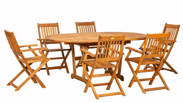 Turnbury 7pc Manhattan Folding Set