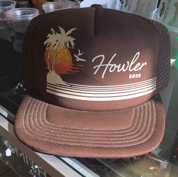 Howler bro's foam trucker snap back