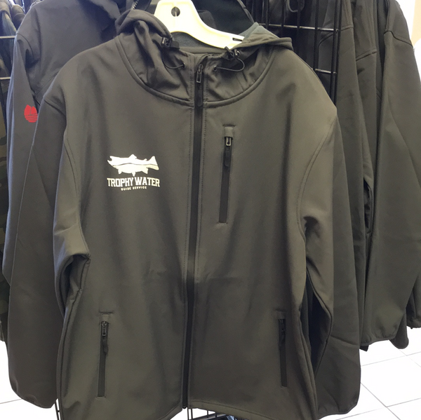 Gun metal gray Trophy Water fleece lined water resistant shell