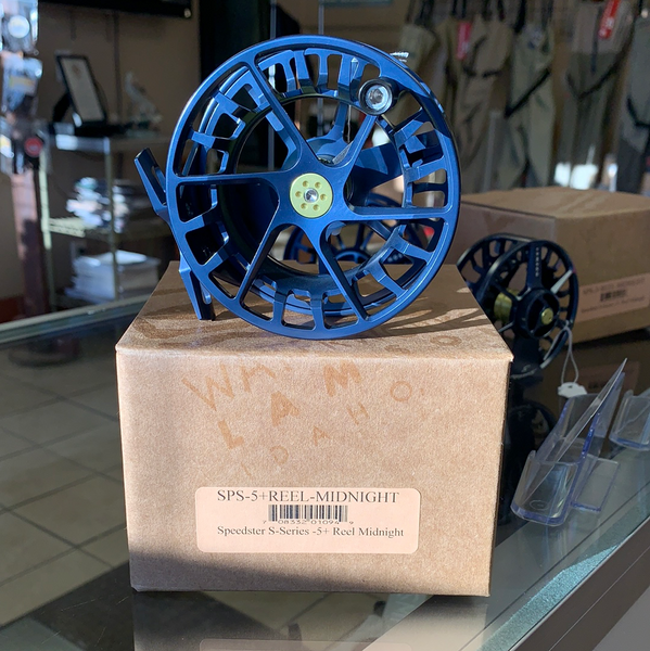 Waterworks Speedster S-Series 5+ Midnight Reel