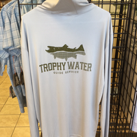 Trophy water hooded sun shirt