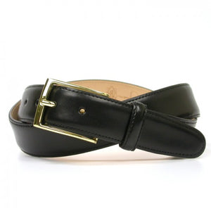 Martin Dingman Smith Leather Belt in Black