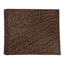 Load image into Gallery viewer, T. B. Phelps Bozeman Bison Leather Bifold Wallet in Briar