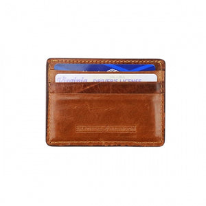 Smathers & Branson Navy Camo Needlepoint Card Wallet