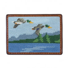 Load image into Gallery viewer, Smathers & Branson Great Outdoors Needlepoint Card Wallet