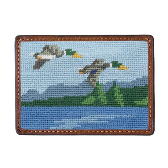 Smathers & Branson Great Outdoors Needlepoint Card Wallet