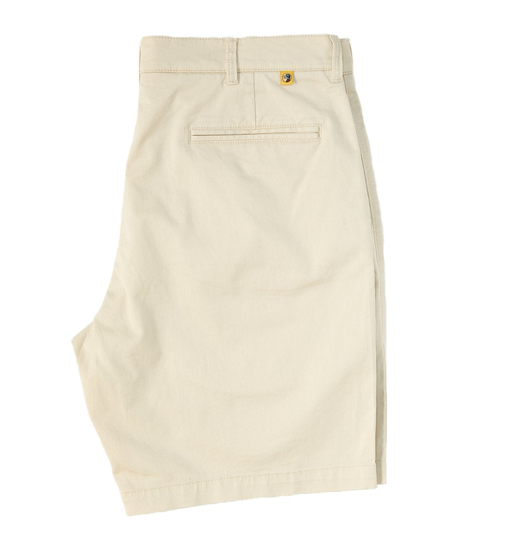 "Duckhead 9"" Gold School Chino Short in Stone"