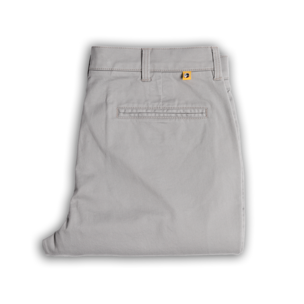 Duckhead Gold School Chino in Limestone Gray