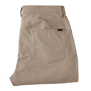 Duckhead 1865 Five-Pocket Pinpoint Canvas in Khaki