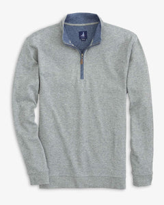 Johnnie-O Sully Quarter-Zip Pullover in Slate