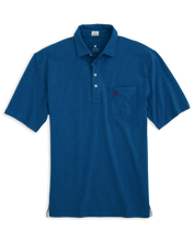 Load image into Gallery viewer, Johnnie-O The Original 4-Button Heathered Polo in Rip Tide