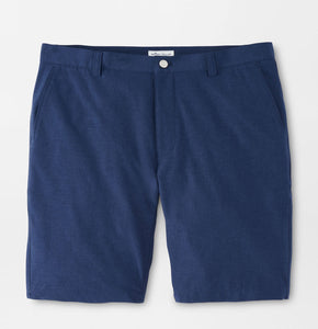 Peter Millar Shackleford Performance Hybrid Short in Navy