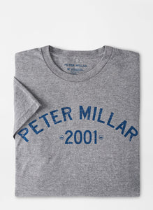 Peter Millar 20th Anniversary T-Shirt in Heather Grey