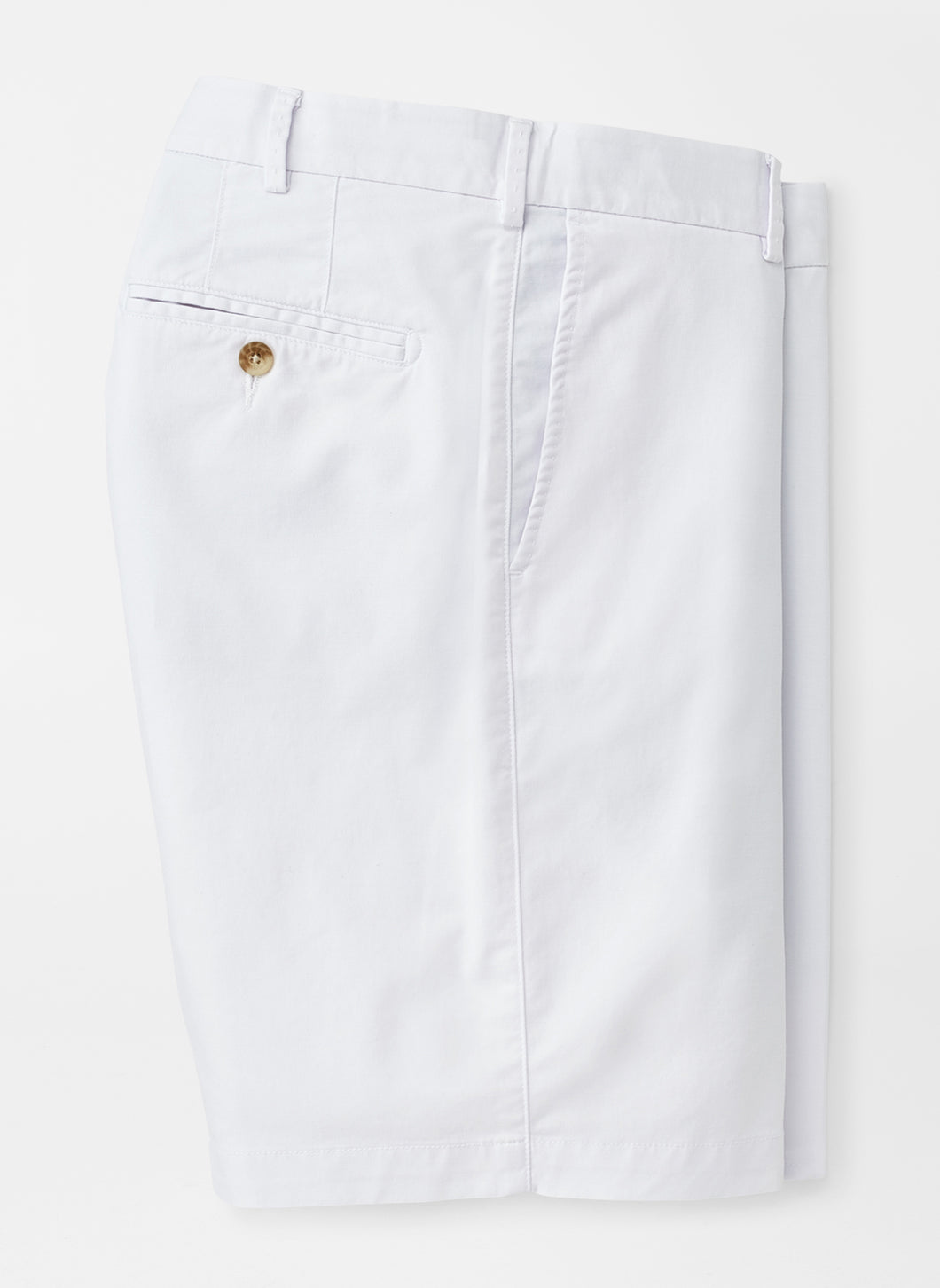 Peter Millar Soft Touch Twill Short in White