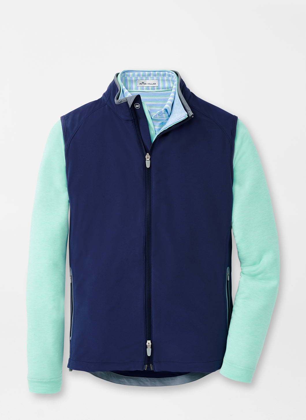 Peter Millar Zephyr Performance Vest in Navy