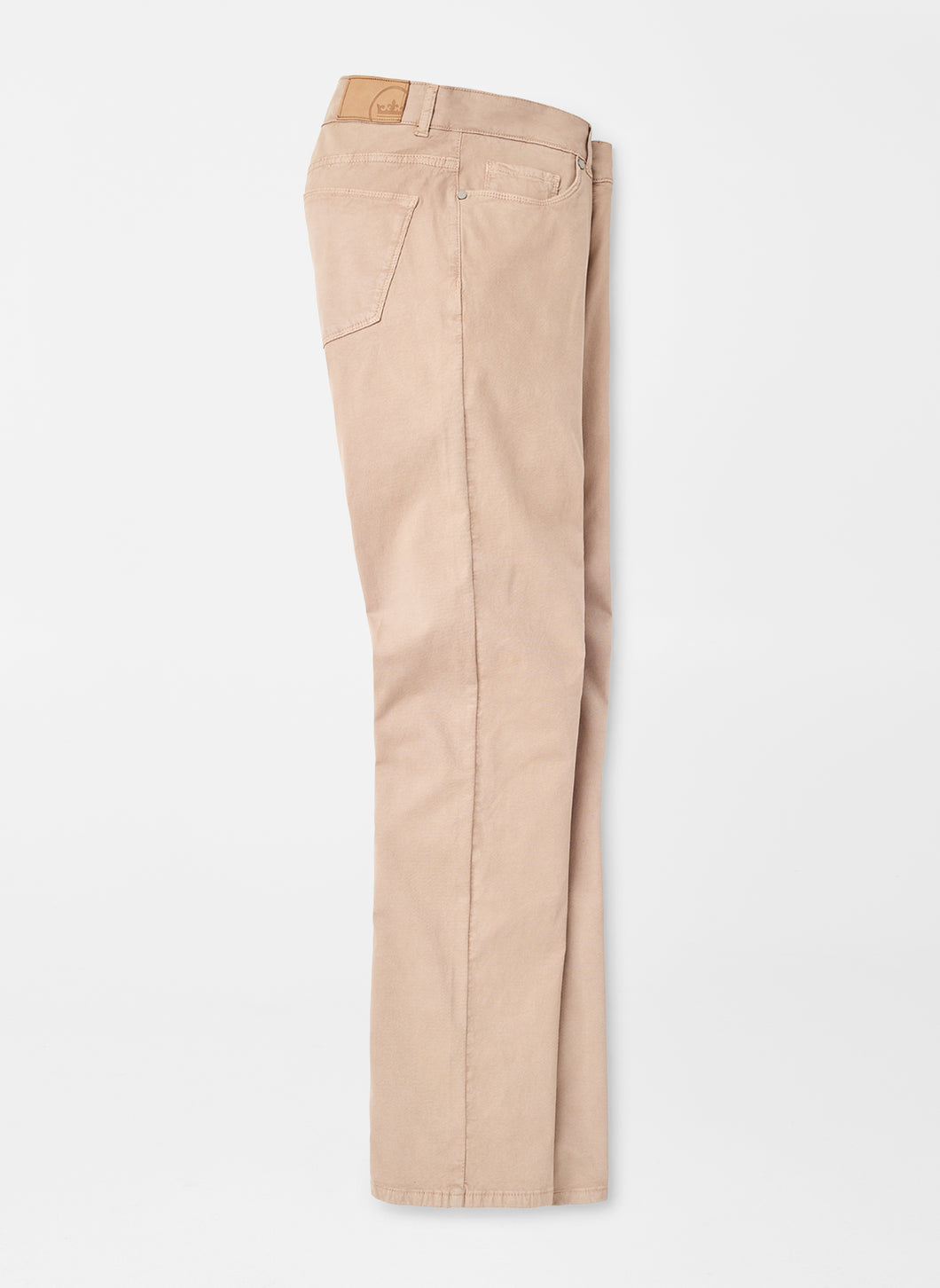 Peter Millar Wayfare Five-Pocket Pant in Khaki