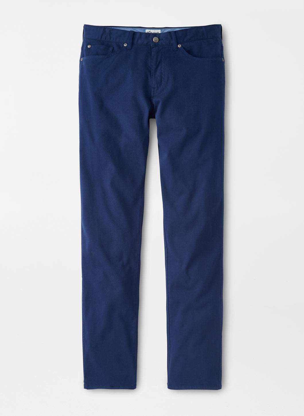 Peter Millar Ultimate Sateen Five-Pocket Pant in Midnight