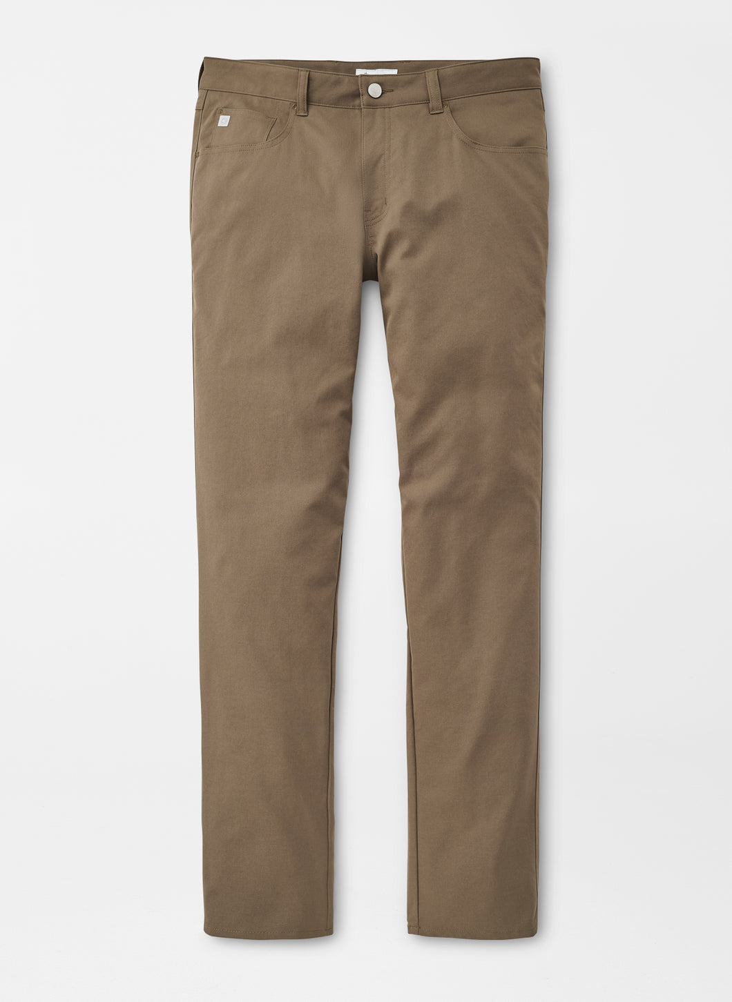 Peter Millar eb66 Performance Five-Pocket Pant in Toasted Beige