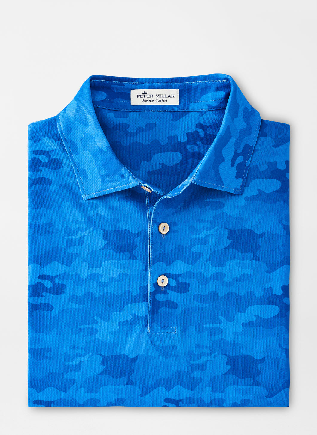 Peter Millar Cedar Performance Polo in Cape Blue