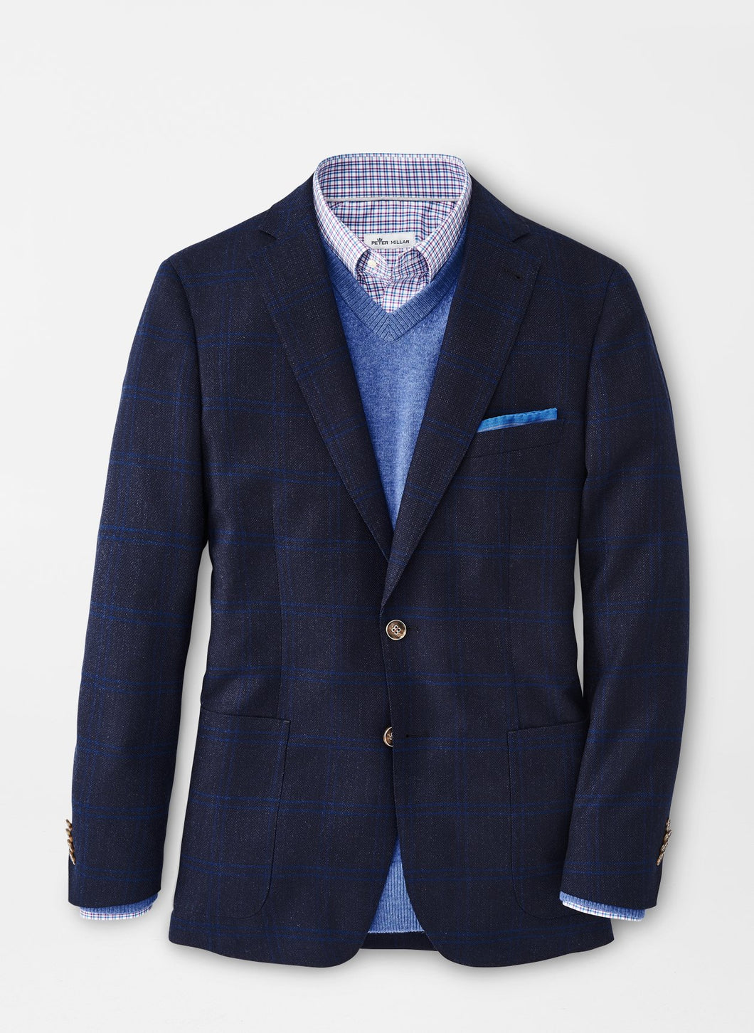 Peter Millar Fall Check Soft Jacket