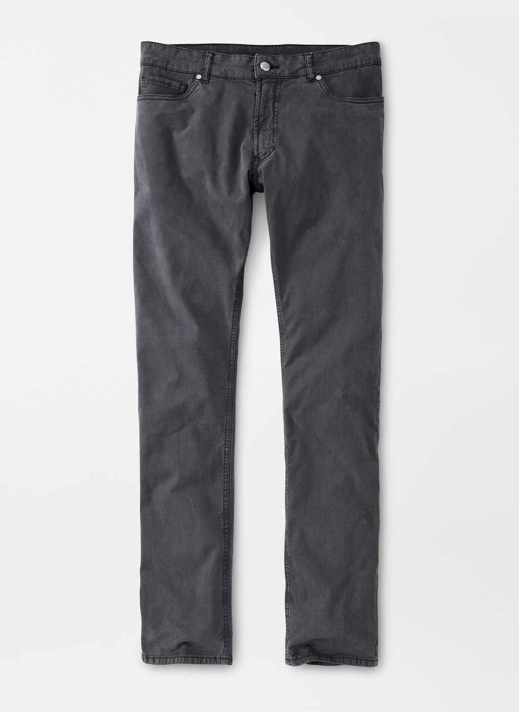 Peter Millar Wayfare Five-Pocket Pant in Dolomite Grey