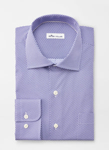 Peter Millar Diamond Cotton-Blend Sport Shirt