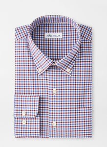 Peter Millar Ferdinand Cotton-Blend Sport Shirt in Sailor Blue