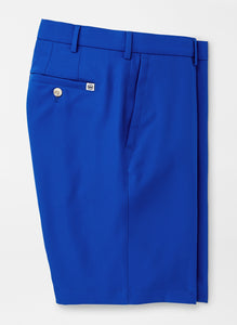 Peter Millar Salem High Drape Performance Short in Blue Lapis