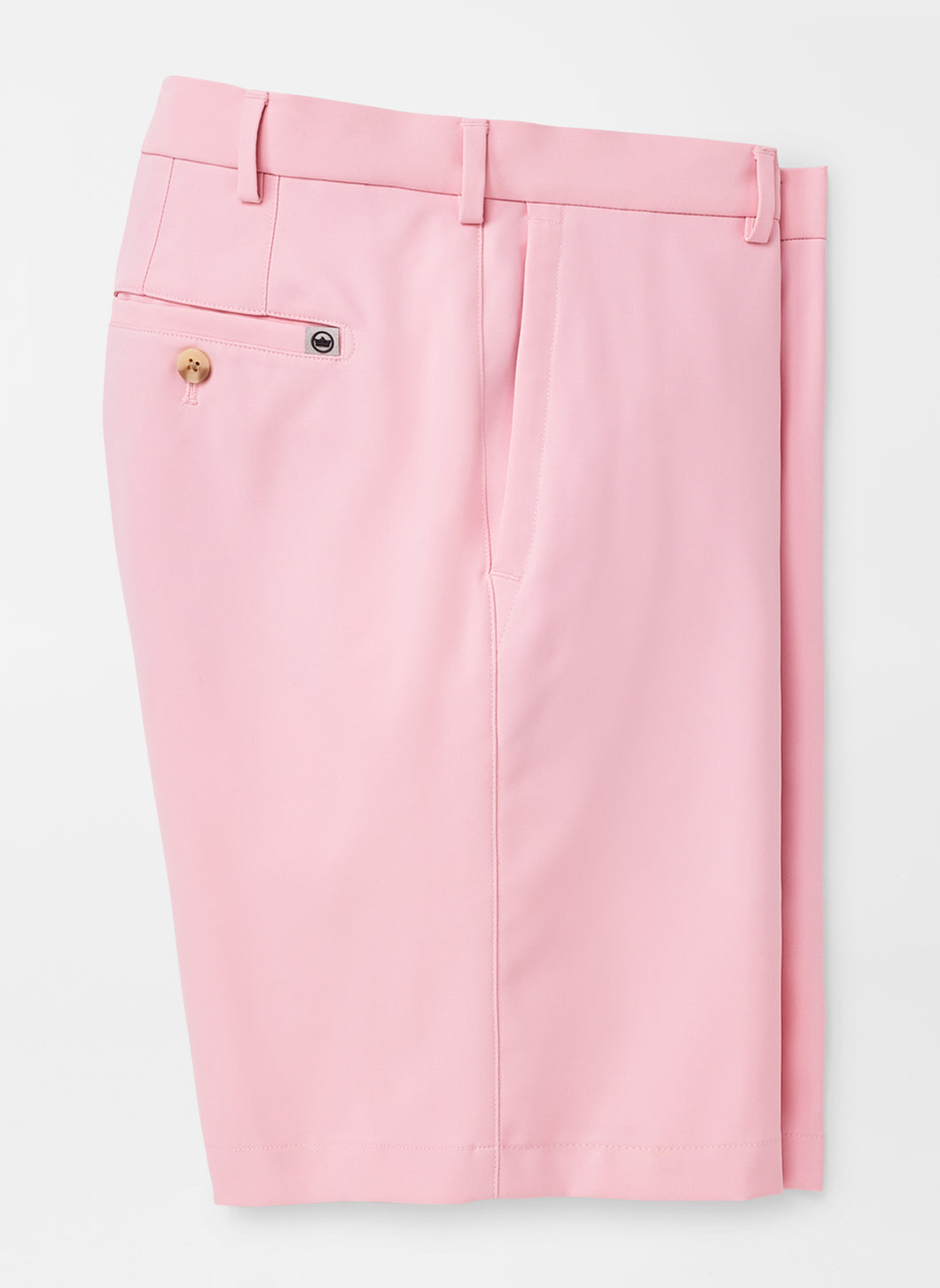 Peter Millar Salem High Drape Performance Short in Palmer Pink