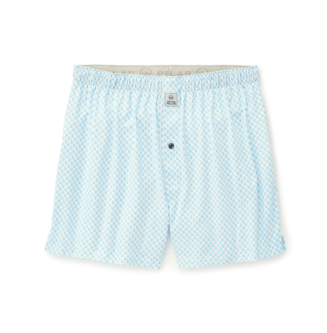 Peter Millar Hudson Performance Boxer in White