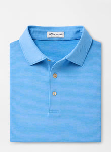 Peter Millar Halford Performance Polo in Riverbed