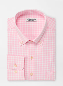 Peter Millar Winston Natural Touch Sport Shirt in Palmer Pink