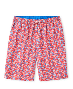 Peter Millar Sedona Air Swim Trunk in Hyannis Red