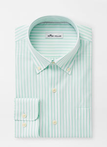 Peter Millar Crown Ease Caspian Sport Shirt in Yucca