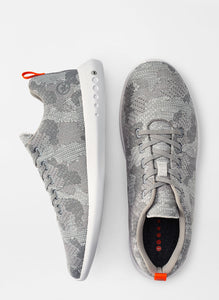 Peter Millar Hyperlight Glide Camo Sneaker in Gale Grey