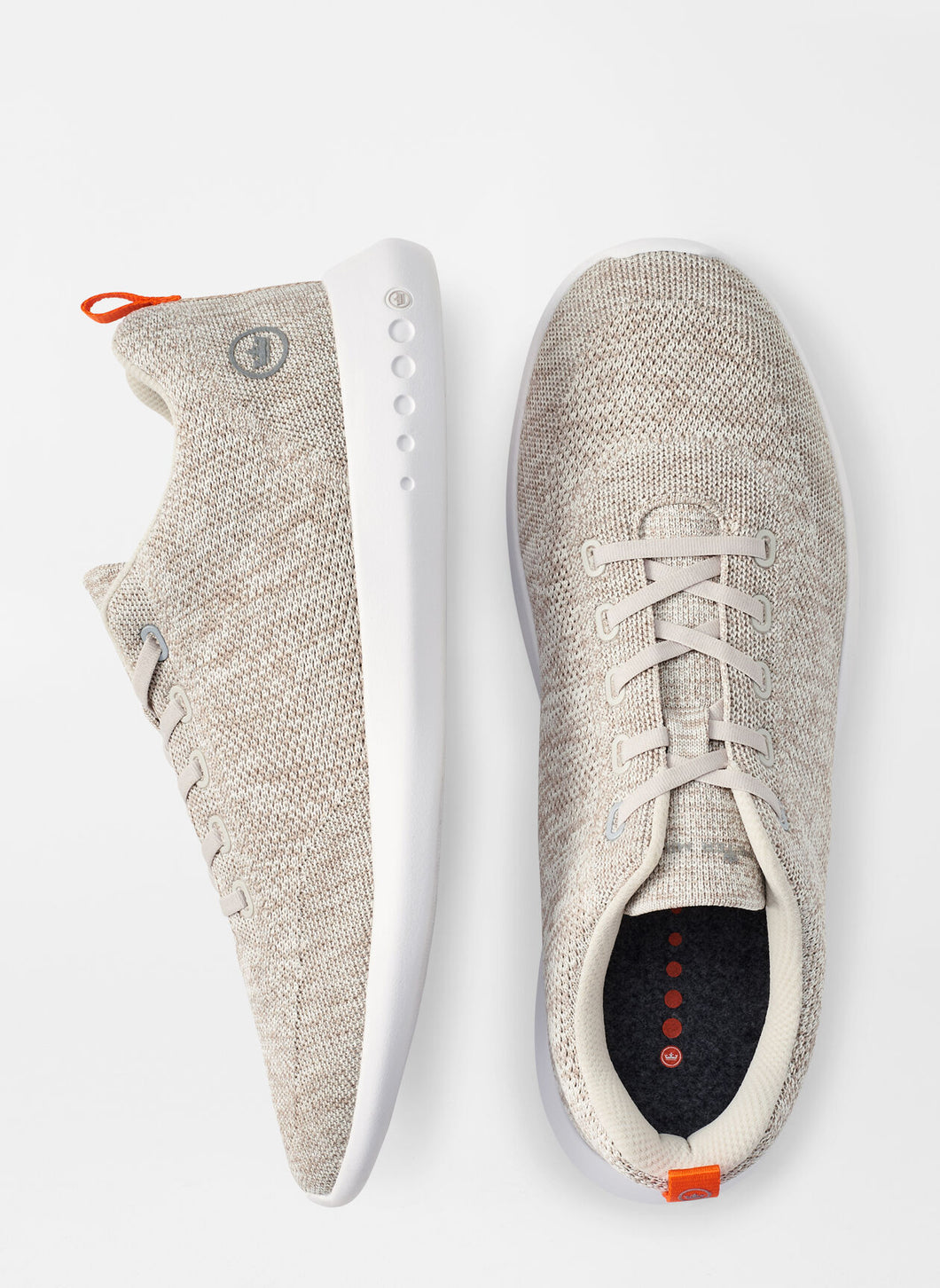 Peter Millar Hyperlight Glide Sneaker in Stone