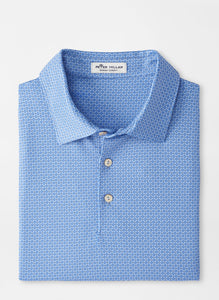 Peter Millar Brooks Performance Jersey Polo in Cottage Blue