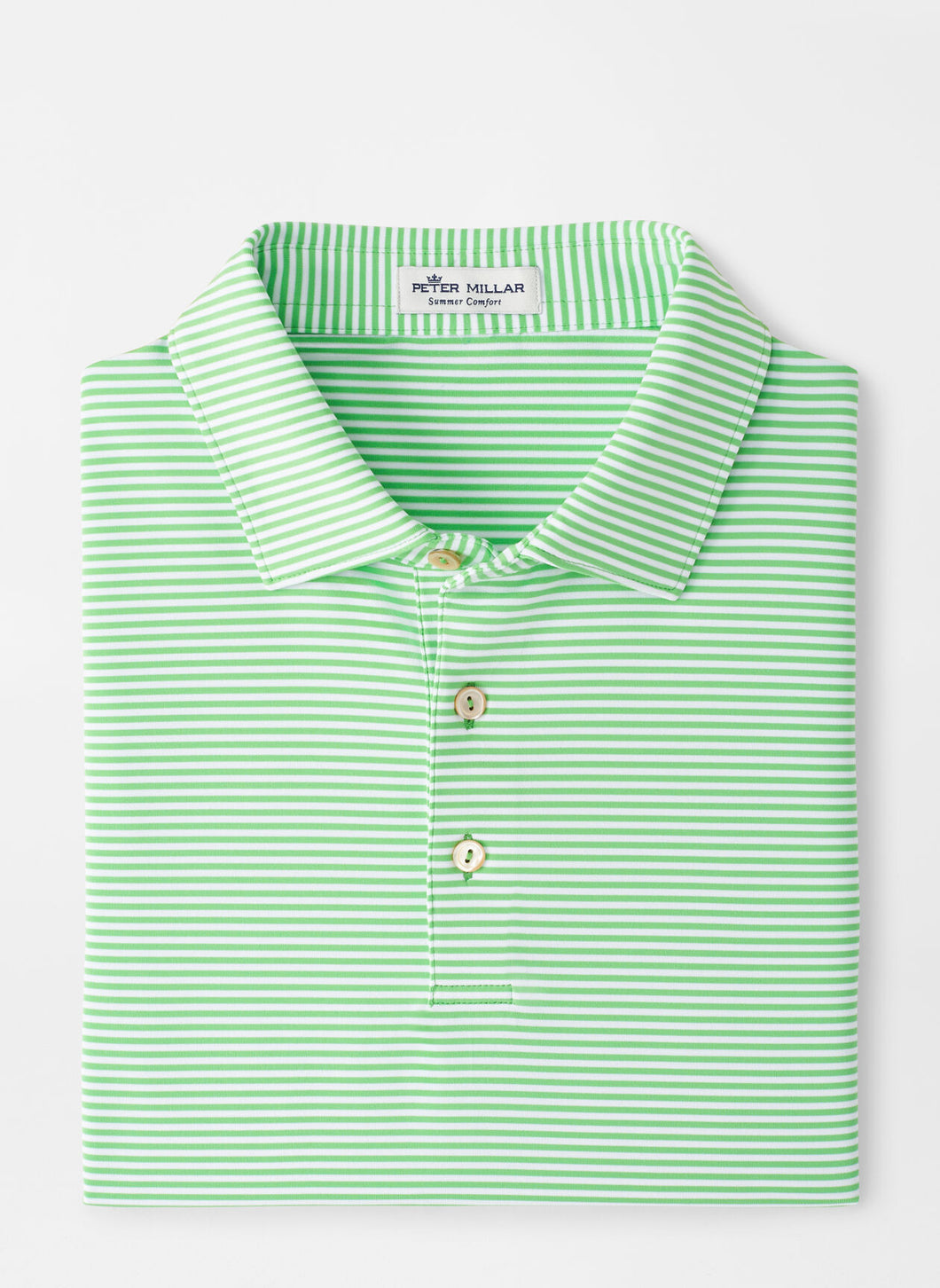 Peter Millar Hales Performance Polo in Mint Leaf