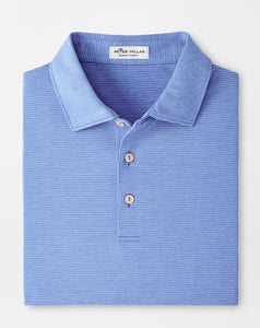 Peter Millar Halford Performance Polo in Blue Sea