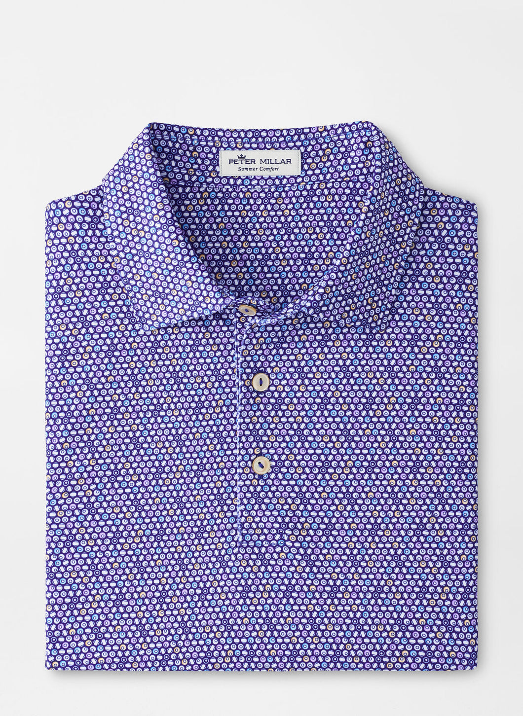 Peter Millar Juke Performance Jersey Polo in Deep Ocean