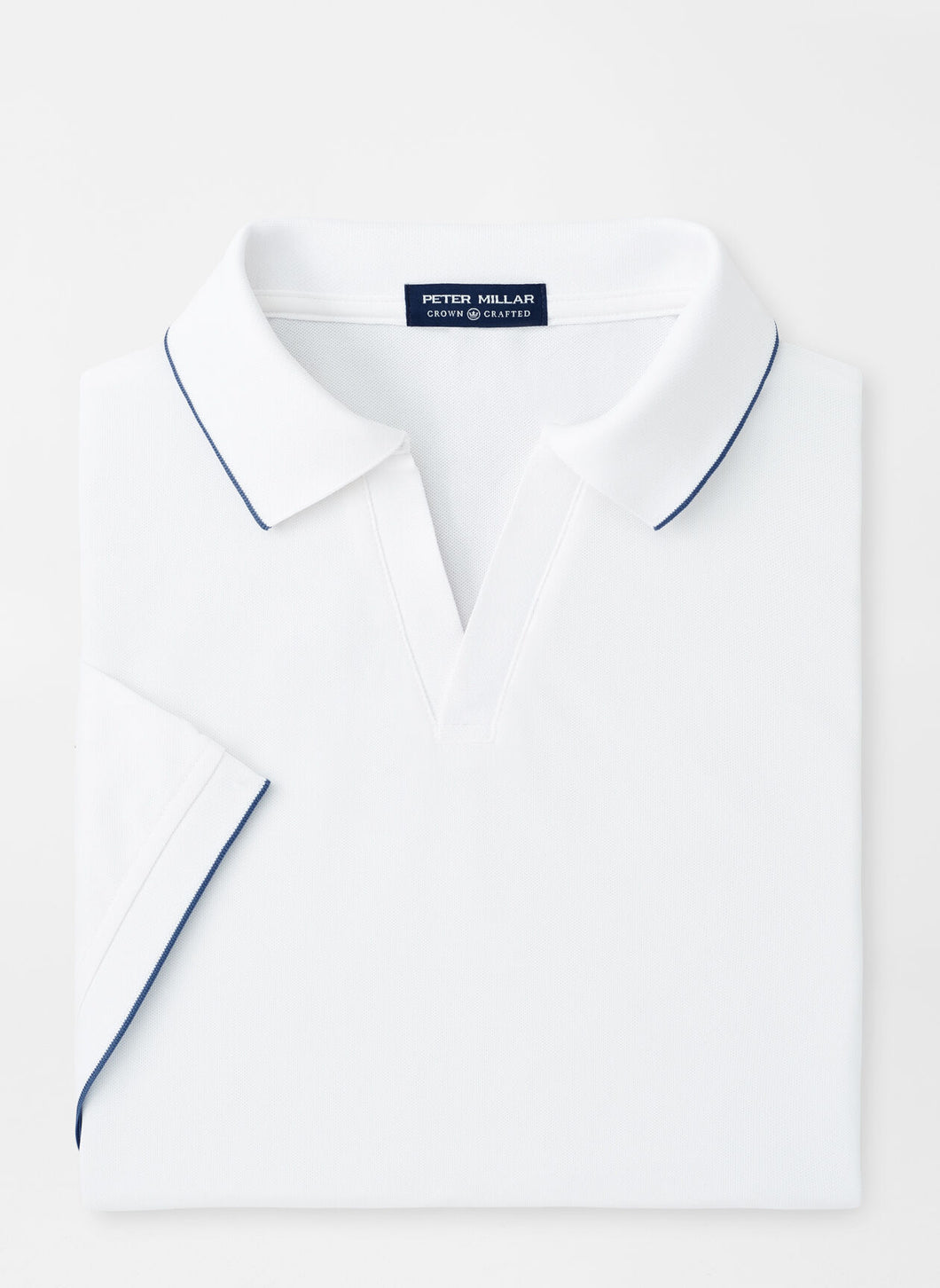Peter Millar Summertime Performance Mesh Polo in White