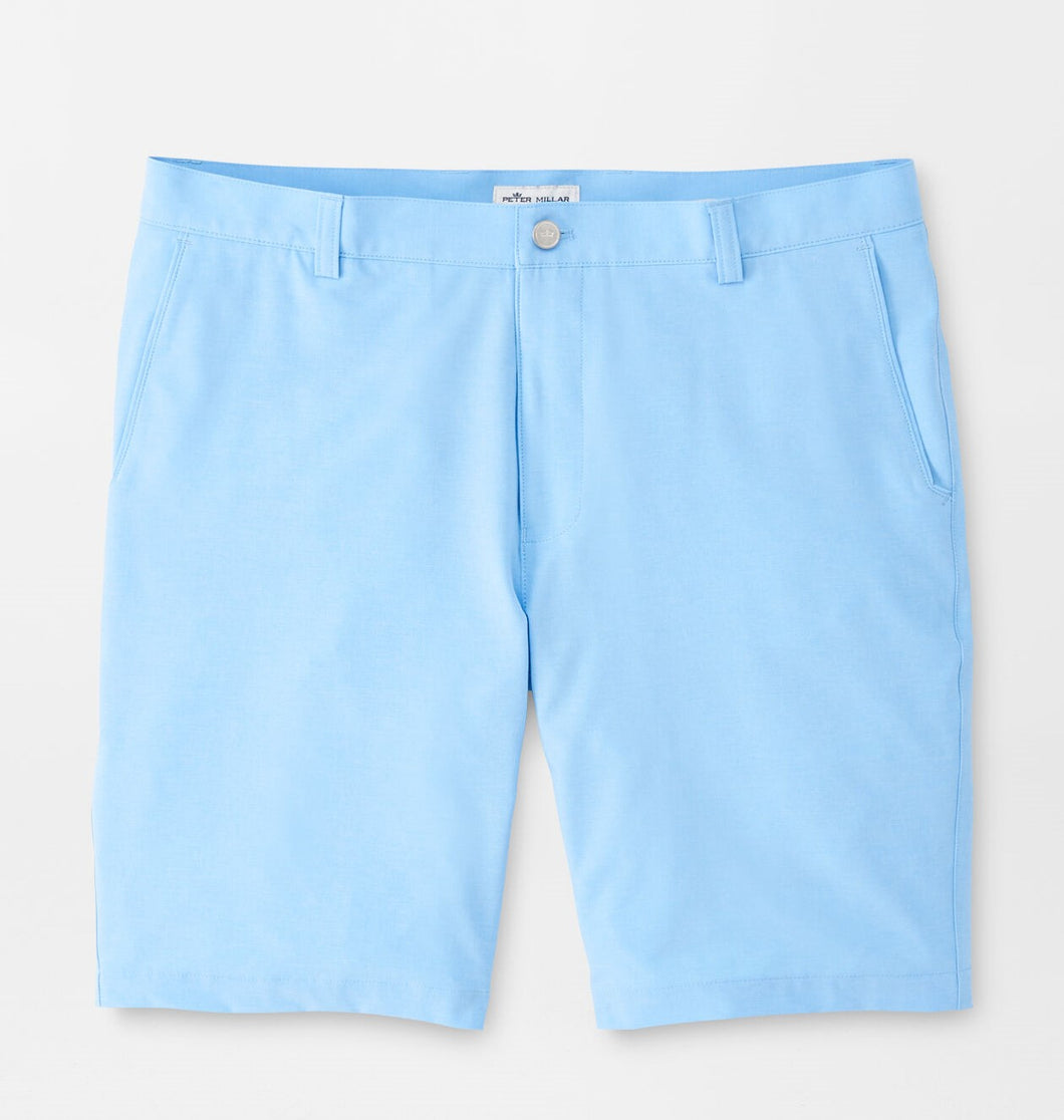 Peter Millar Shackleford Performance Hybrid Short in Cottage Blue