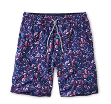 Load image into Gallery viewer, Peter Millar Recipe for Disaster Swim Trunk in Atlantic Blue
