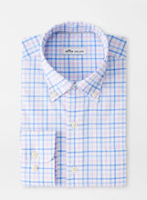 Load image into Gallery viewer, Peter Millar Sydney Cotton-Blend Sport Shirt in Blue Sea