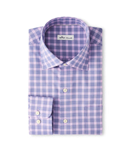 Peter Millar Crown Ease Cooper Sport Shirt in Deep Ocean